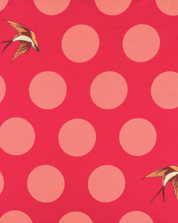 """2 YDS FREE FALL Backing Fabric 108"""" Wide Tula Pink - Suitable for Tula Nova quilt"""