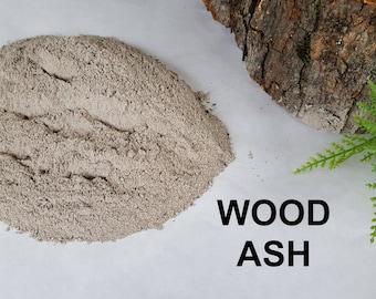 5lbs Wood Ash / Natural Wood Ash / Sifted Wood Ash / Clay Potters Ash / Ash Pottery Glaze / Soap Making