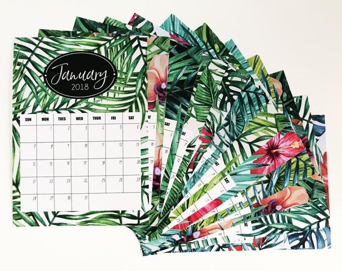 Featured listing image: 2018 Desk Calendar - GONE TROPPO