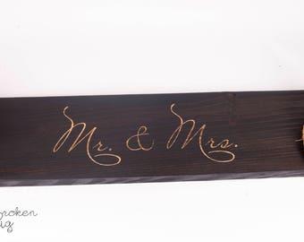 Mr & Mrs Wedding Double Swing