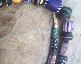 Venetian mix old trade beads Africa trade beads