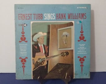 Ernest Tubb - Sings Hank Williams - Circa 1968