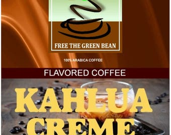 Kahlua Creme Flavored Coffee Mexican Coffee, 12oz(350g)