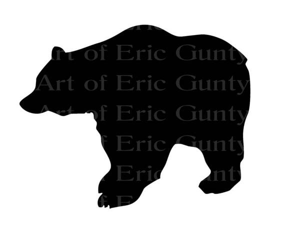 Black Bear Birthday - Edible Cake and Cupcake Topper For Birthday's and Parties! - D22581