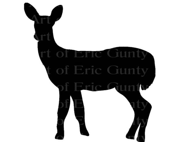 Deer Hunting Doe Birthday - Edible Cake and Cupcake Topper For Birthday's and Parties! - D22920