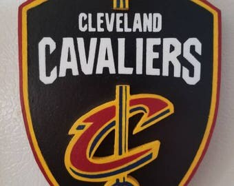 Cleveland Cavaliers Shield two dimensional magnet