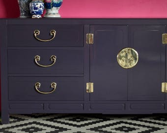 White Furniture Co Chinoiserie  Dresser or Credenza - Available for Custom Lacquer