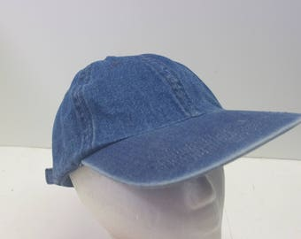 Low Profile Denim hat cap jean dad