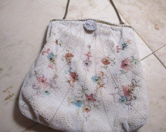 Beaded French Purse