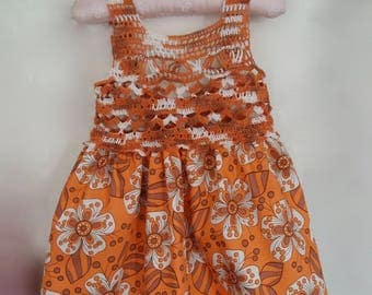 Pinafore dress 12-18 months
