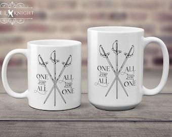 Resultado de imagen de the three musketeers mug