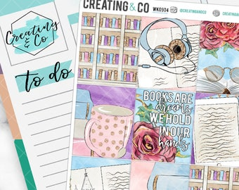 Turn the Page Weekly Planner Kit for No-White Space and White Space Planners  - WK09