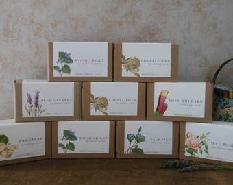 bulk listing | 12 bars luxury natural soap for resale, bridesmaid, wedding or shower favors | assorted fragrances 4 oz each | wholesale