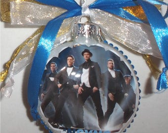 NSYNC inspired Tribute Christmas Ornament