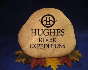 Custom Engraved Business/Logo Stones