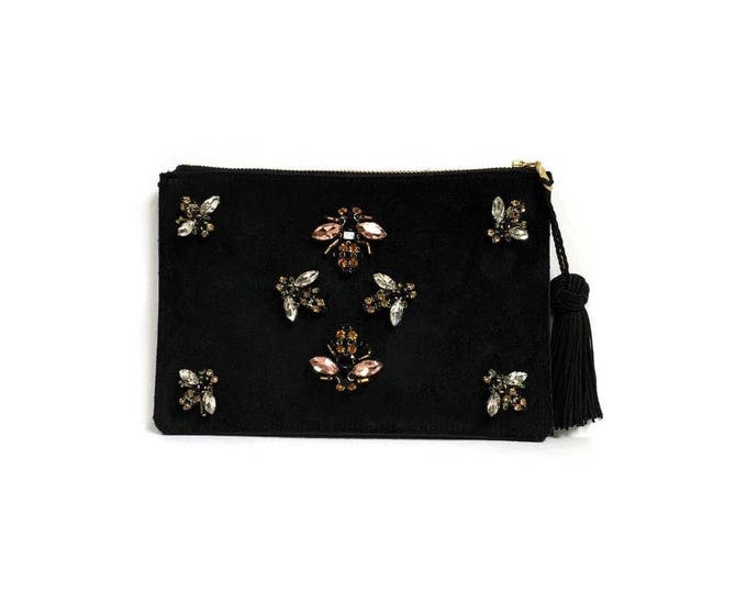 Featured listing image: Jeweled Bee Clutch