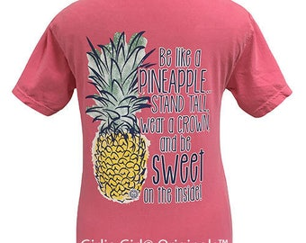 Girlie GirlPineapple Tshirt