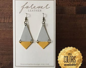 Triangle Earrings [Choose Your Own Color]