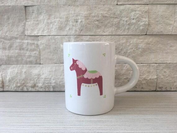 Dala Horse Espresso Mug