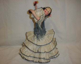 Roldan Klumpe Doll Flamenco Dancer 1950's
