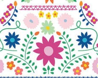 Fabric - Art Gallery -  Fiesta Fun Mexican Dress Morning - cotton print.
