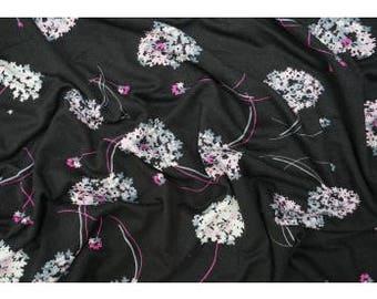 Fabric - Lady McElroy- Wyndham - viscose/elastane jersey - drapey dressmaking knit fabric.