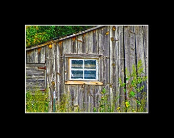 Weathered Summer Barn