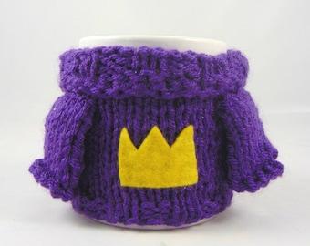Mabel Sweater Mug Cosy - Crown