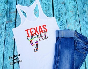Property of Texas, Texas shirt, Texas girl, Southern Girl, Country Tee, Country shirt, Country Girl, Texas Tank, Serape, Texas country music