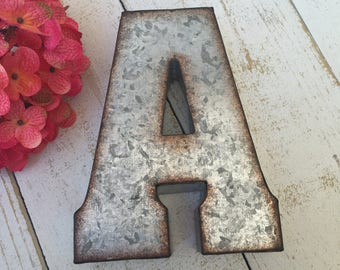 Ampersand Wall Decor metal wall decor letters | etsy
