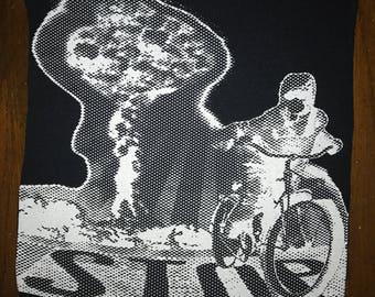 "15""x16"" Atomic Boy 100% cotton fabric patch"