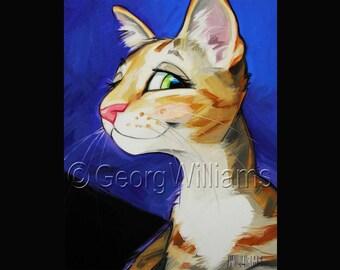 "Pet Portrait Giclee Print ""Callie"""
