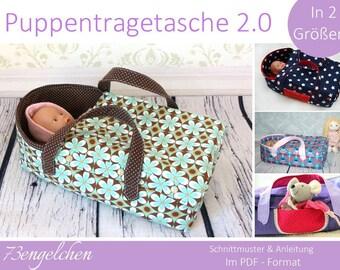 E-Book Puppentragetasche 2.0 in 2 Größen