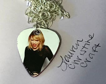 Taylor Swift Guitar Pick Necklace
