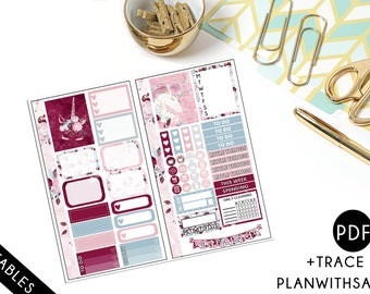 Unicorn Dreams -  Personal Planner Printable Stickers