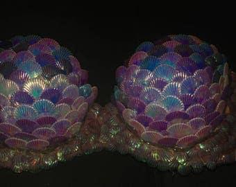 Mermaid in Love with purple