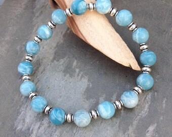 Blue Larimar bracelet / Larimar