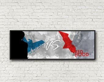 ON SALE Nightwing vs Red Hood