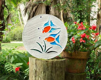 Tropical Fish Goldfish Stepping Stone #537