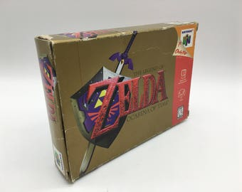 Legend of Zelda: Ocarina of Time (Nintendo 64, 1998) N64, Complete with Manual and Original Box