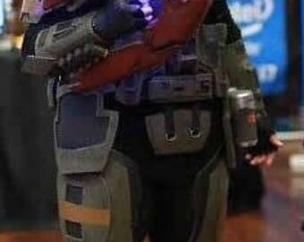DIY Kit Game Cosplay Costume Foam Armor : Halo ODST - Foam Kit or Finished Kit