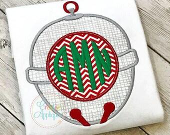Sleigh Bell Monogram, Christmas Bell Monogram, Girl XMAS Tee, Boy Christmas Shirt, Santa Applique, Polar Express Bell, Boy XMAS Tee