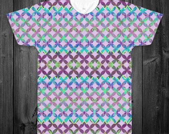 Circular Tribal All Over Shirt (Two Sided)