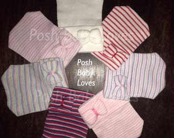 FLaSH SaLE Newborn Hospital Hats. Small Bows Tiny Bows Get 1 or all! Newborn Hat Bundle Cute Variety for New Addition Great Gifts