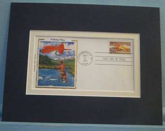 The Art of Fly Fishing  - the First Day Cover of the Apre Tarpoon Fishing Fly Stamp