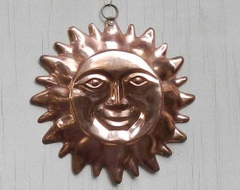 Boho Style Copper Sun Decor!