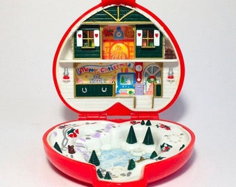 "ON SALE Polly Pocket ""Christmas"""