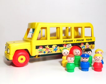 Famous Fisher Price Yellow School Bus