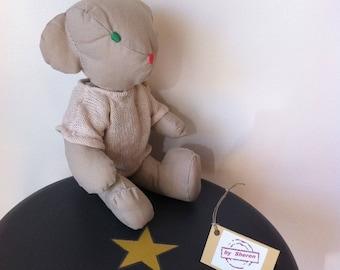 Teddy bear vintage style-