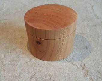 Cherry Wood Ring/jewelry Box